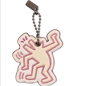 Coach Keith Haring Dancing Dog hangtag